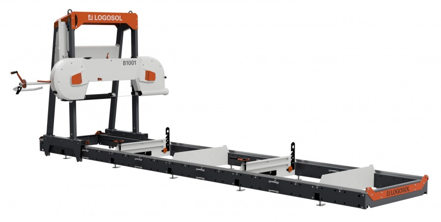 B1001 Band Sawmill with 12 kW Electric Motor