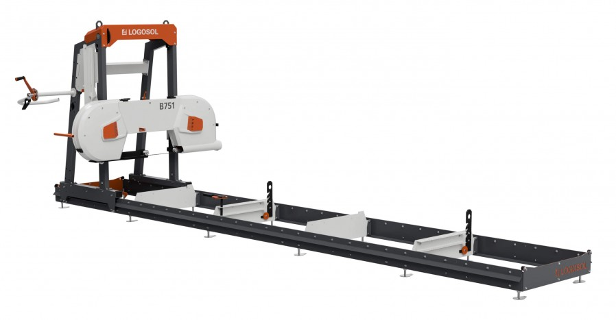 B751 Band Sawmill with 4.6 kW Electric Motor