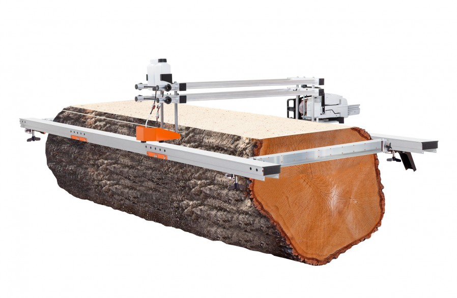 """Big Mill with guide rail package, for 56"""" (142 cm) guide bars (chain & guide bar included)"""