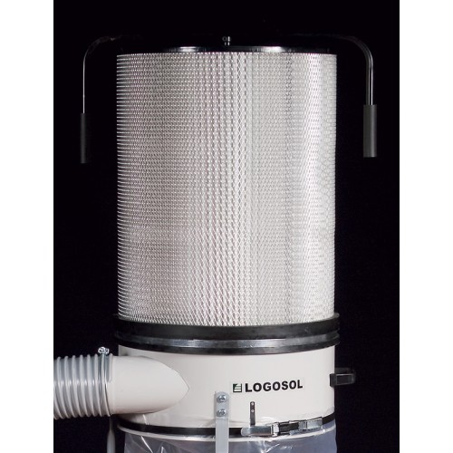 Dust Filter for 1,1 kW and 2,2 kW Chip Extractor