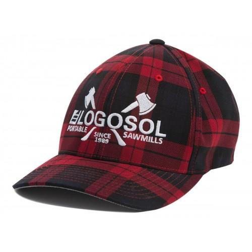 Logosol Cap black/red