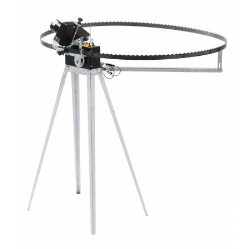 Band blade grinder robot