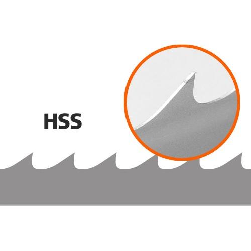 5 Bandsaw Blades for Lennartsfors / Jonsered / Serra Filius, L: 3570 mm,  W:34 mm